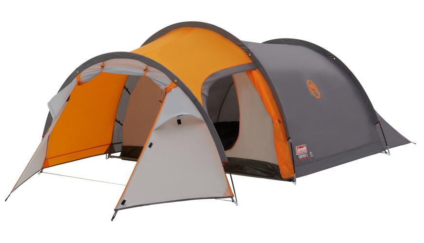 Coleman Cortes 3 tent 3 personen grijs/oranje